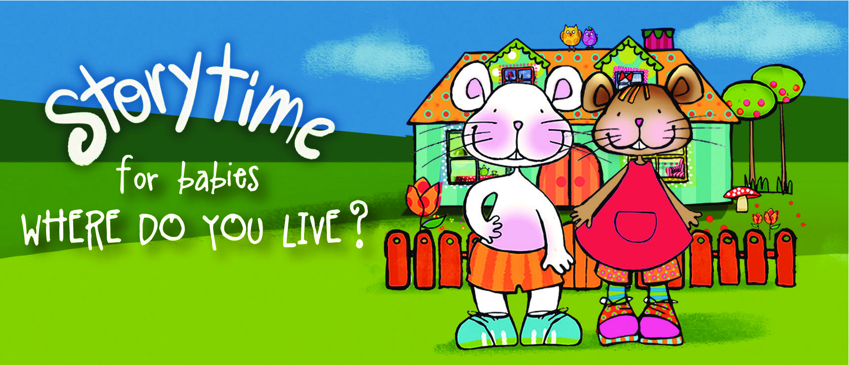 Storytime pour bébés 'Where do you live?